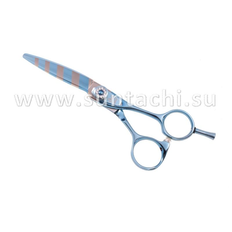 Прямые ножницы TSD-X-55 blue