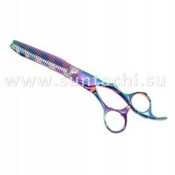 Филировочные ножницы ZG2-6037TAR rainbow